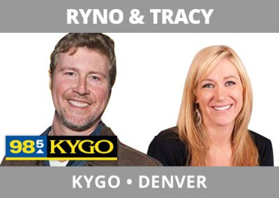 Ryno & Tracy, KYGO, Denver