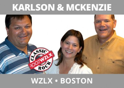 Karlson & McKenzie, WZLX, Boston