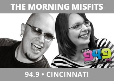 The Morning Misfits, 94.9, Cincinnati