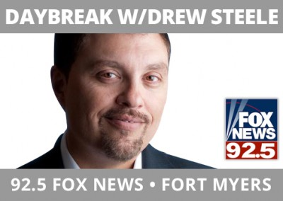 Daybreak With Drew Steele, FOX 92.5, Fort Myers