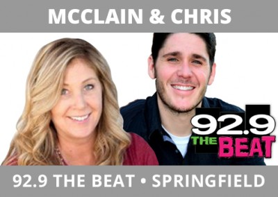 McClain & Chris, 92.9 The Beat, Springfield