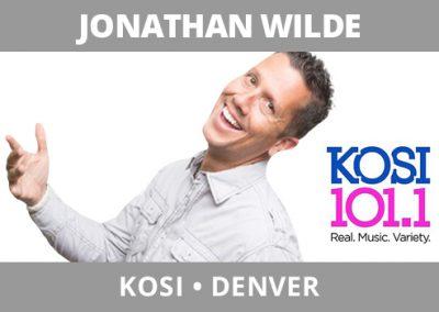 Jonathan Wilde, KOSI, Denver