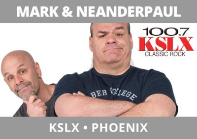 Mark and NeanderPaul, KSLX, Phoenix