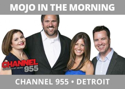 Mojo in the Morning, Channel 95.5, Detroit