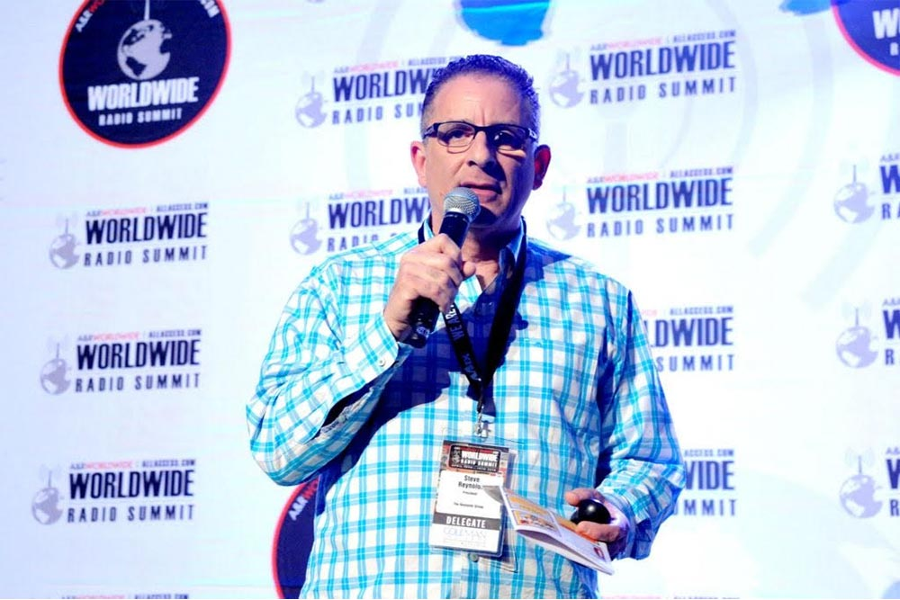 Steve Reynolds, Speaker